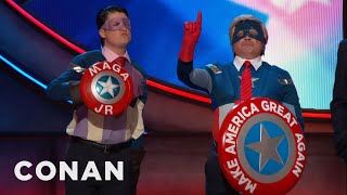 Download Introducing: Captain Make America Great Again Jr. - CONAN on TBS Video