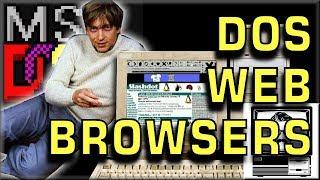 Download DOS Web Browsing in 2017 | Nostalgia Nerd Video