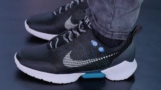 Download First Look: Nike's POWER-LACING Shoe - Nike HyperAdapt 1.0 Video