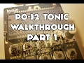 Download PO-32 Tonic Walkthrough Jam (part 1) Video