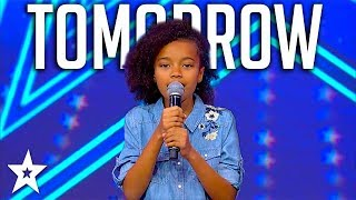 Download Sweet Little Girl Sings Annie Musical Tomorrow on Israel's Got Talent 2018 Video