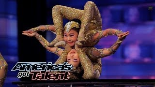 Download Contortionists Add Specials Twist to Their Acts - America's Got Talent 2014 Video