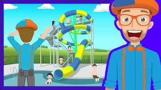 Download The Theme Park Song by Blippi | Amusement Park for Children Video