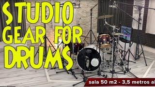 Download Equipo de grabacion de baterias online - Studio gear for Online drums recording - tonimateos Video