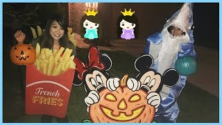 Download HALLOWEEN TRICK OR TREAT for Candy and Surprise Toys with Princess ToysReview Video