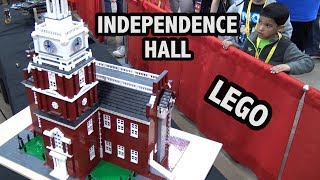 Download LEGO Independence Hall in Philadelphia Video