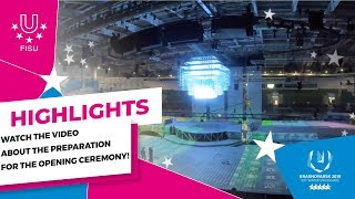 Download Watch the video about the preparation for the Opening ceremony! 📺 Video