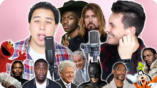 Download Lil Nas X & Billy Ray Cyrus - ″Old Town Road″ Impersonation Cover (LIVE ONE-TAKE!) Video