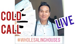 Download Wholesaling Real Estate cold call Video