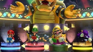 Download Mario Party 10 - Bowser Party Mode - Chaos Castle (Master Difficulty/Team Bowser) Video