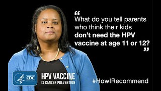 Download Talking to Parents Who Think Their Kids Don't Need HPV vaccine at Age 11 or 12: Dr. Savoy Video