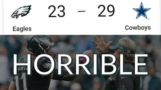 Download Eagles vs Cowboys Week 14 Reaction | Horrific First Half Offense Not Refs Is the Reason For Loss Video