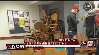 Download 9 hurt in Ohio State University attack Video