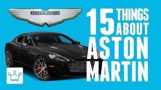 Download 15 Things You Didn't Know About ASTON MARTIN Video