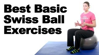 Download 7 Best Swiss Ball Exercises for Beginners - Ask Doctor Jo Video