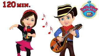 Download Hokey Pokey Song and Dance & Nursery Rhymes for Children | Wheels On The Bus | Mum Mum TV Video