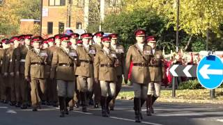 Download Household Cavalry Regiment Remembrance Sunday Video