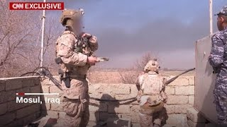 Download US soldiers help Iraqi troops secure Mosul Video
