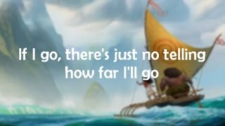 Download Lyrics: ″How Far I'll Go″ (Movie version by Auli'i Cravalho) from Disney's Moana Video