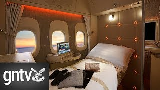 Download A tour inside Emirates' new first class cabin Video
