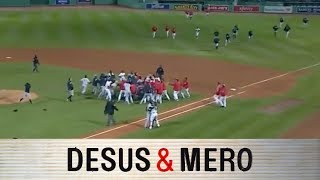 Download Yankees and Red Sox Brawl Video