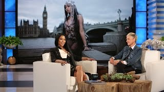 Download Nicki Minaj Introduces Ellen to the Rap Game Video