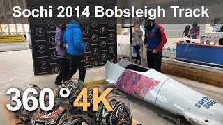 Download Sochi 2014 Bobsleigh Track Video