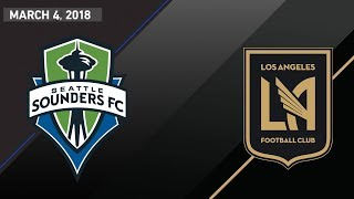 Download GAME OF THE WEEK: Seattle Sounders vs LAFC   March 4, 2018 Video