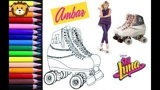 Download Como Dibujar - Soy Luna - Patines de Ámbar - Dibujos para niños - Draw and Coloring Book for Kids Video