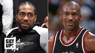 Download Kawhi Leonard reminds me of Michael Jordan - Kendrick Perkins | Get Up! Video