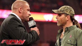 Download Triple H and Shawn Michaels don't see eye-to-eye: Raw, Oct. 21, 2013 Video
