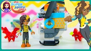 Download Lego DC Superhero Girls Bumblebee's Helicopter Build Review Play Kids Toys Video