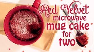 Download Red Velvet Microwave Mug Cake Recipe For Two Video
