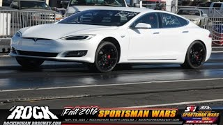 Download Tesla P100D Takes Over Multiple Drag Racing Classes! Video