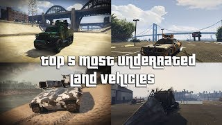 Download GTA Online Top 5 Most Underrated Land Vehicles Everyone Should Own and Why Video