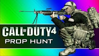Download Call of Duty 4: Prop Hunt Funny Moments - First Blood, Claymore Tutorial, Yellow Crates! (CoD4 Mod) Video