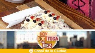 Download ¿Cómo hacer una Torta de ricota y frutos rojos? Claudio Guarnaccia en Hoy Nos Toca a las Diez Video