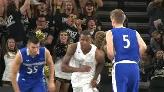 Download Highlights: Men's Basketball Vs.Fort Wayne, 85-71 W Video