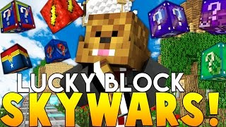 Download Minecraft SUPERHERO LUCKY BLOCK SKYWARS (Awesome Mods) Video