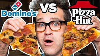 Download Dominos vs. Pizza Hut Taste Test | FOOD FEUDS Video