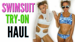 Download HUGE SWIMSUIT TRY-ON HAUL 2017 Video