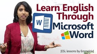 Download Learn English through 'Microsoft Word' - English Lessons by Emmelda Video