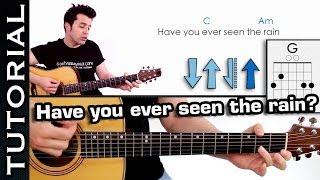 Download Aprende Have You Ever Seen The Rain? Como tocar en guitarra fácil Video