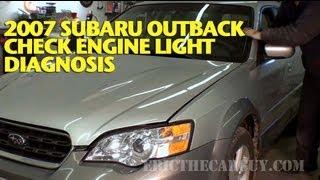 Download 2007 Subaru Check Engine Light Diagnosis -EricTheCarGuy Video