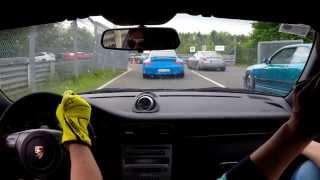 Download Porsche 997.1GT3CS Cup 1 vs Lamborghini Huracán @ Nür Video