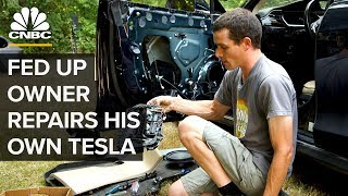 Download This Tesla Model S Owner Repairs His Own Car Video