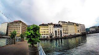 Download Geneva, Switzerland - A walking tour Video
