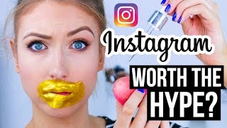 Download FULL FACE Using INSTAGRAM HYPED Makeup?! || What Worked & What DIDN'T Video