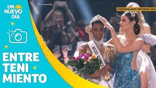 Download Mis Universó 2019 coronó a Zozibini Tunzi como reina | Un Nuevo Día | Telemundo Video