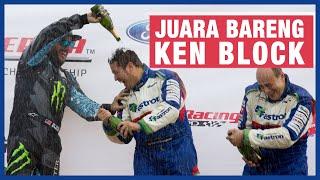 Download Rifat Sungkar Lawan Ken Block Di Rally America 2013 #throwback Video